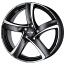 ALUTEC Shark 7 x 16 5*112 Et: 38 Dia: 70,1 Racing Black Front Polished