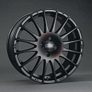 OZ SUPERTURISMO GT 7,5 x 17 5*114,3 Et: 50 Dia: 75 MATT BLACK RED LETTERING