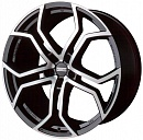 FONDMETAL 9XR 9 x 20 5*120 Et: 45 Dia: 74,1 Black polished