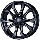 ALUTEC W10 8 x 18 5*112 Et: 39 Dia: 66,5 Racing Black Front Polished