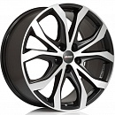 ALUTEC W10X 8 x 18 5*130 Et: 53 Dia: 71,5 Racing Black Front Polished