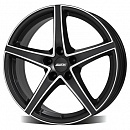 ALUTEC Raptor 8 x 18 5*112 Et: 34 Dia: 70,1 Racing Black Front Polished