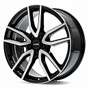 Rial Torino 7,5 x 17 5*108 Et: 48 Dia: 70,1 Diamond Black Front Polished