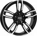 ALUTEC Drive 8 x 18 5*112 Et: 30 Dia: 66,5 Diamond Black Front Polished