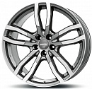 ALUTEC Drive 9,5 x 21 5*130 Et: 53 Dia: 71,5 Metal Grey Front Polished