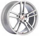 1000 Miglia MM1002 8,5 x 19 5*114,3 Et: 42 Dia: 67,1 Matt Silver Polished