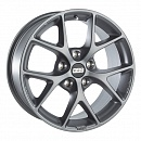 BBS SR028 8,5 x 19 5*112 Et: 46 Dia: 82 Vulcano Grey Diamond Cut