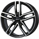 ALUTEC Ikenu 7,5 x 17 5*112 Et: 45 Dia: 66,5 Diamond Black Front Polished