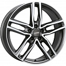 ALUTEC Ikenu 7,5 x 17 5*114,3 Et: 38 Dia: 70,1 Graphite Front Polished