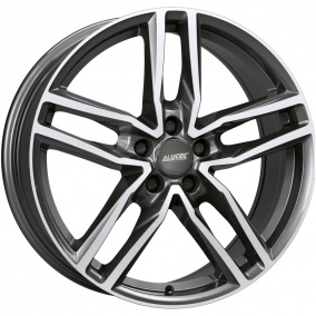 ALUTEC Ikenu 6,5 x 16 5*112 Et: 50 Dia: 57,1 Graphite Front Polished